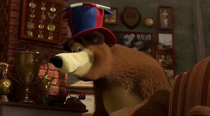 Маша и Медведь - Позвони мне, позвони!