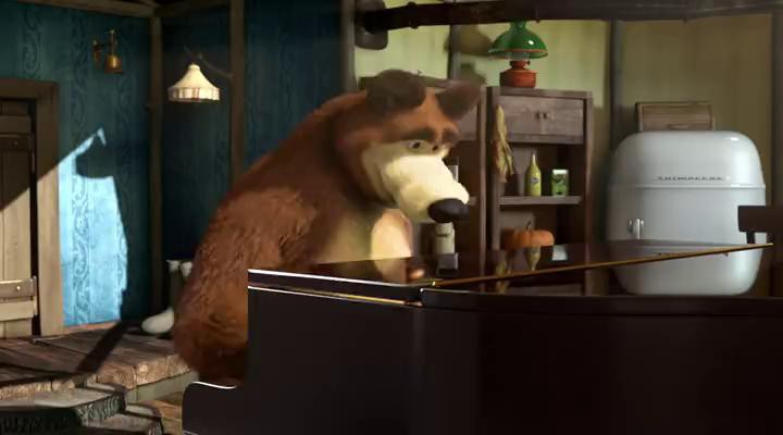 Маша и Медведь - Репетиция оркестра
