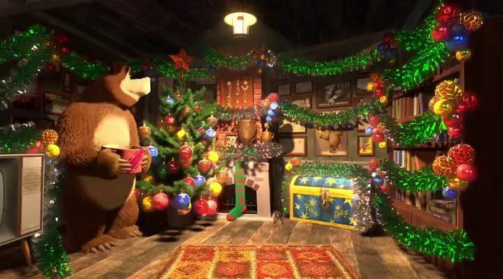 Маша и Медведь - Один дома