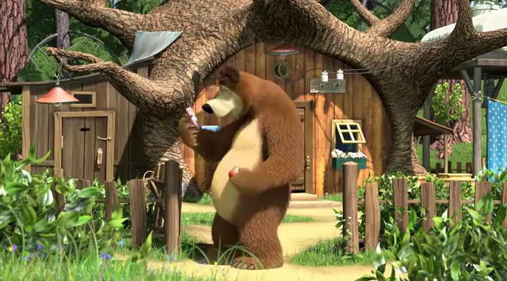Маша и Медведь - Дышите! Не дышите!