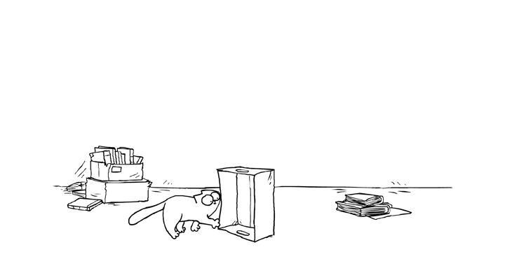 Кот Саймона 8 серия — Коробка