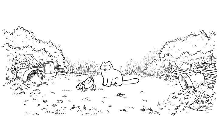 Кот Саймона 21 серия — Гадкий жабёнок