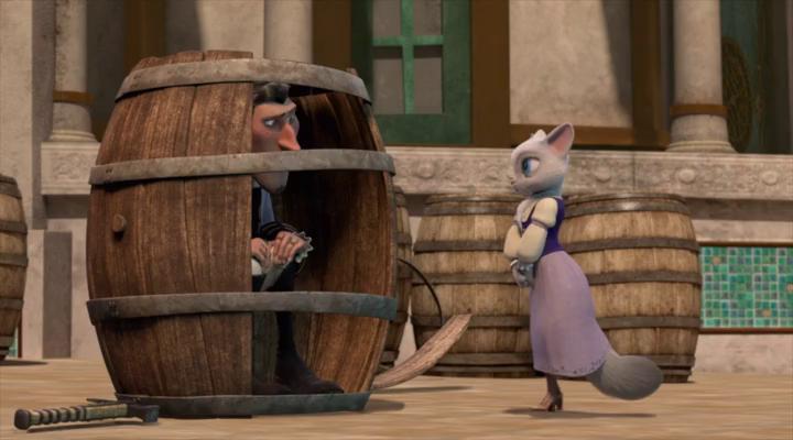 Приключения кота в сапогах (1 Сезон) - 13 Серия