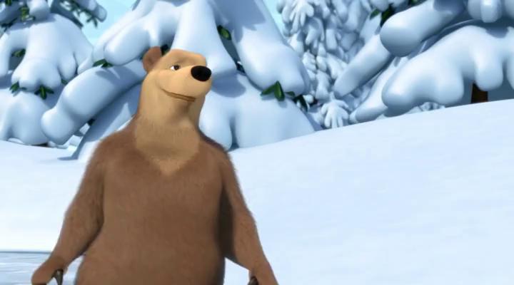 Маша и Медведь - Праздник на льду