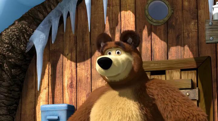 Маша и Медведь - Когда все дома