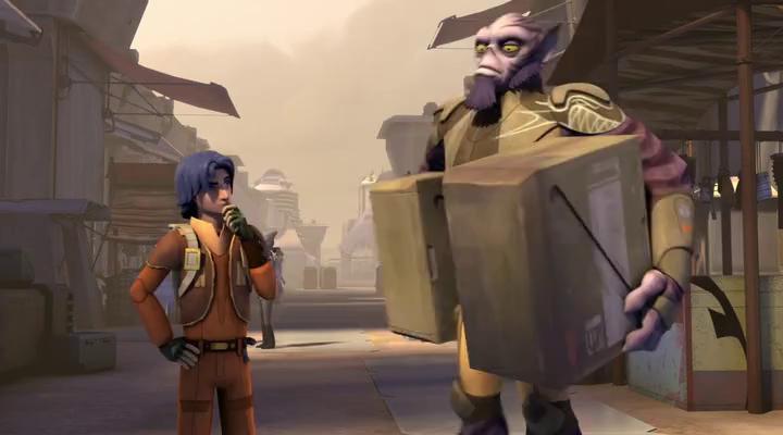 Звездные войны: Повстанцы (1 Сезон) - 3 Серия