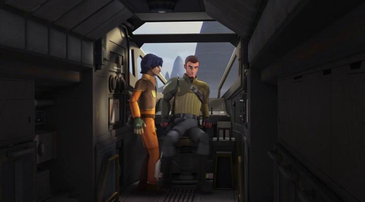 Звездные войны: Повстанцы (1 Сезон) - 9 Серия