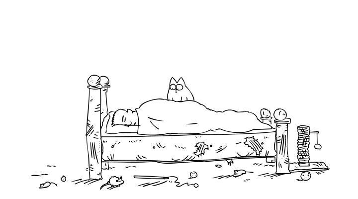 Кот Саймона 1 серия — Котобудильник