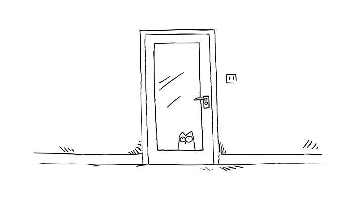 Кот Саймона 2 серия — Впусти меня