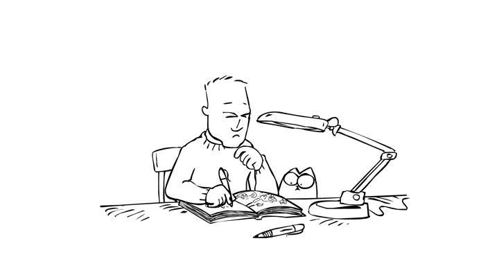 Кот Саймона 6 серия — Горячая точка