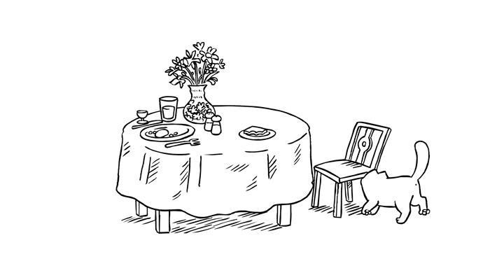 Кот Саймона 10 серия — Перерыв на обед