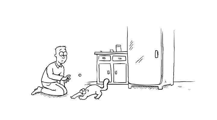 Кот Саймона 15 серия — Сокровища