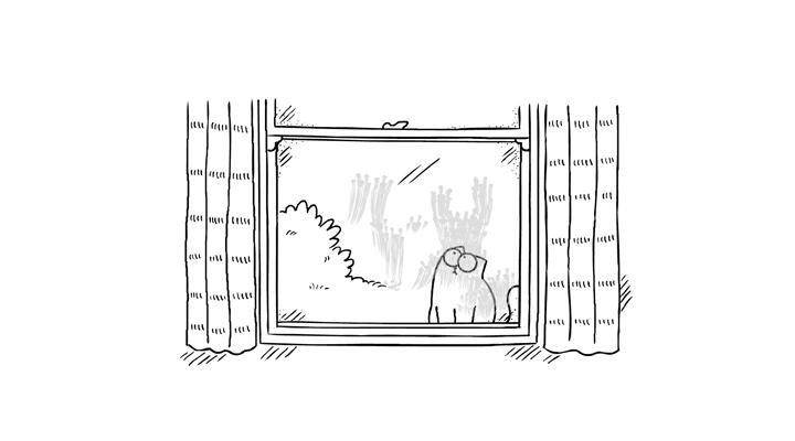 Кот Саймона 22 серия — За стеклом