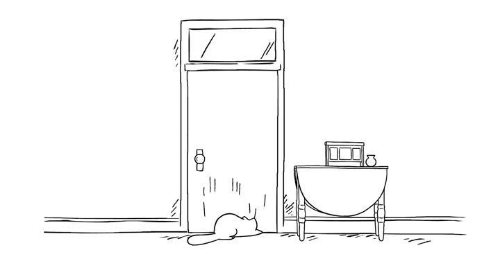 Кот Саймона 42 серия — Пустите меня