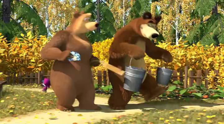 Маша и Медведь - Праздник Урожая